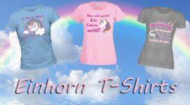 Lustige und coole Einhorntshirts