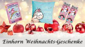 Gute Einhornweihnachts-Geschenke