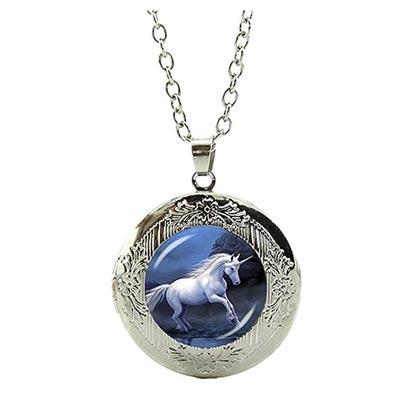 Magisches Einhorn Amulett