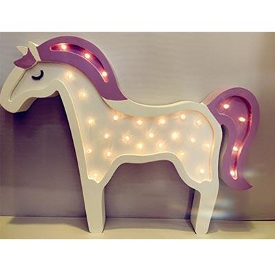 Dekorative Einhorn Baby Lampe