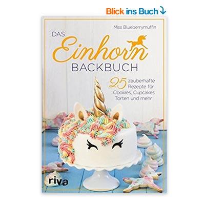 Einhorn Backbuch Weihnachten
