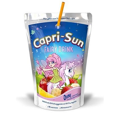 Einhorn Capri Sonne Feengetränk