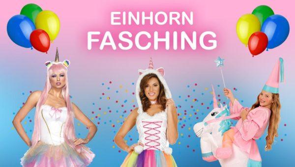 Einhorn Fasching und Karneval