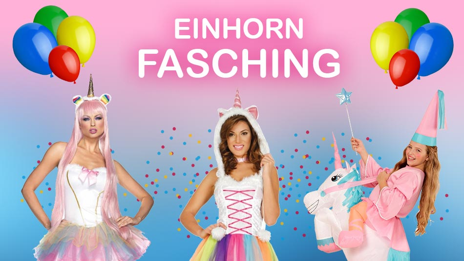 Einhorn Fasching