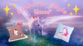 Einhorn Kissen