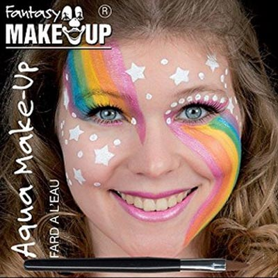 Einhorn Regenbogen Makeup