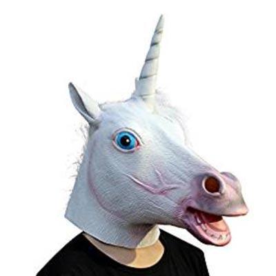 Einhorn Maske für Karneval