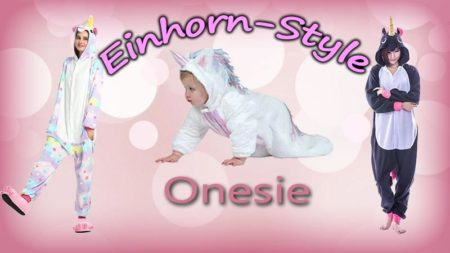 Einhorn Einteiler Onesie