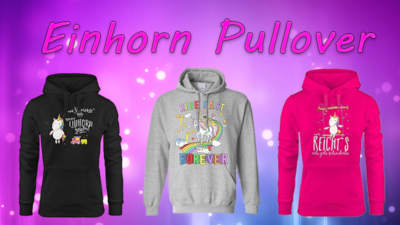 Einhorn Pullover