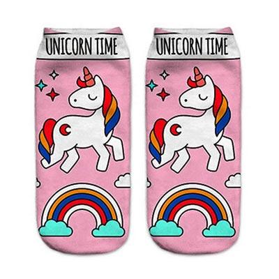 Coole Einhorn Socken für Weihnachten