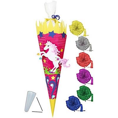Einhorn und Blumen Bastelset für Kinder