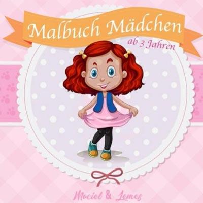 Mädchen Malbuch mit magischen Einhorn Ausmalbildern