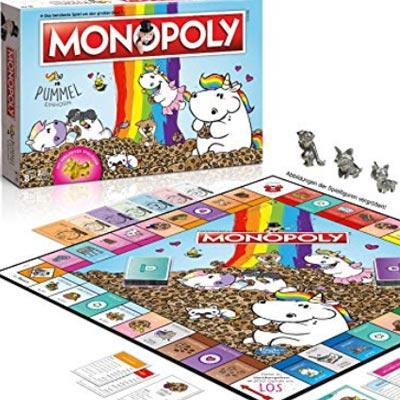 Das beliebte Pummeleinhorn ist nun auch in der Welt von Monopoly angekommen