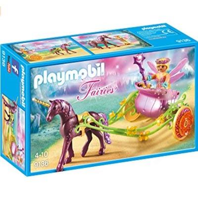 EInhorn Playmobil Spielzeug. Die schöne Einhorn-Kutsche.