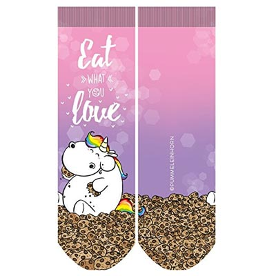 Pummel Einhorn Socken Cookies