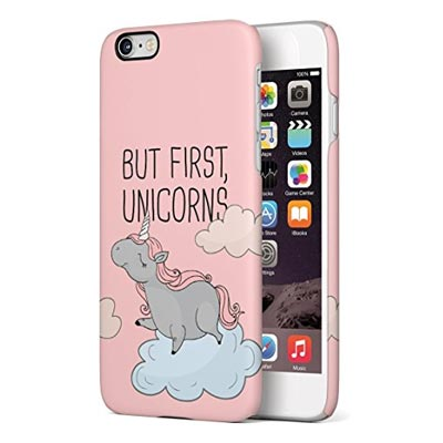 But first Unicorns - Einhornspruch Handyhuelle
