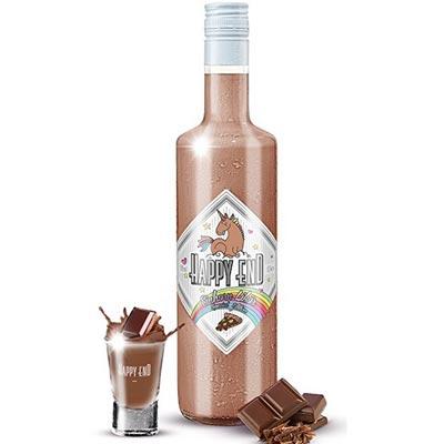 Schkoladen Einhorn Schnaps