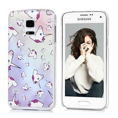 Bunte Smartphone Hülle mit Farbverlauf Pink zu Lila