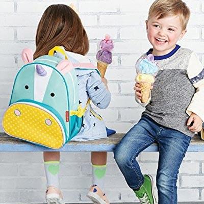 Cooler und mega süßer Kinder Einhorn Rucksack
