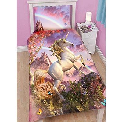 Bettbezug und Kopfkissenbezug Unicorn