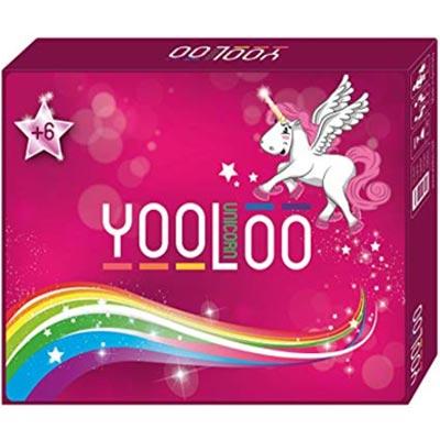Yooloo Einhorn Karten Spiel für Kinder und Erwachsene